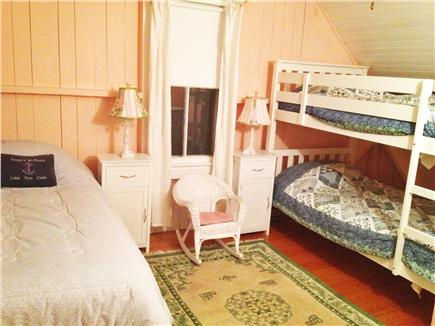 Centerville, Craigville Village Cape Cod vacation rental - Bedroom #3 bunk bed and twin bed