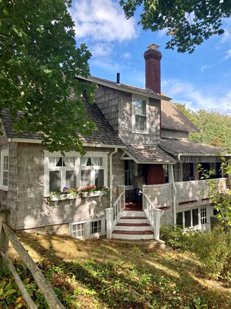 """Centerville, Craigville Village Cape Cod vacation rental - View of cottage from """"Midway"""""""