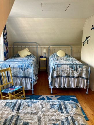 Centerville, Craigville Village Cape Cod vacation rental - Bedroom #4 three twin beds