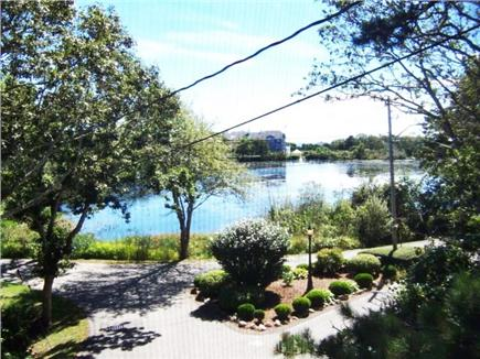 Centerville, Craigville Village Cape Cod vacation rental - View of Lake Elizabeth from screened porch