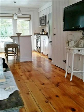 New Seabury, Mashpee New Seabury vacation rental - Kitchen open through French doors to back patio