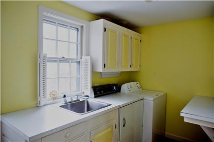 Harwich Port Cape Cod vacation rental - Laundry on first floor