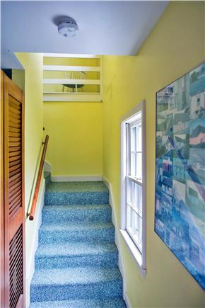 Harwich Port Cape Cod vacation rental - Stairs up to 2 bedrooms on top floor