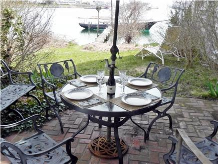 Harwich Port Cape Cod vacation rental - Master bedroom terrace overlooking the harbor