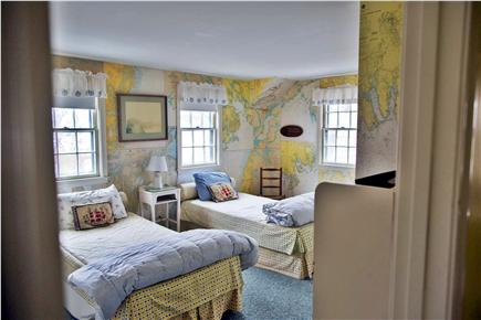 Harwich Port Cape Cod vacation rental - Twin beds in the Chart Room