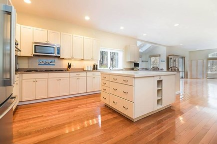 Wellfleet Cape Cod vacation rental - Fully equipped kitchen with center island