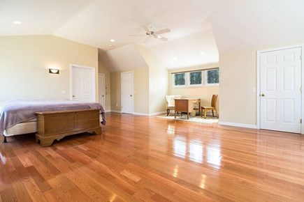 Wellfleet Cape Cod vacation rental - Master Bedroom,King Bed, walk-in closet and private bathroom