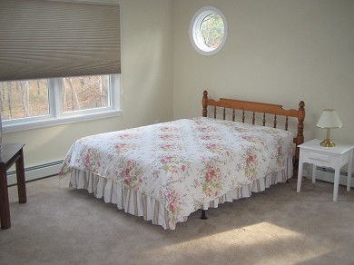 Wellfleet Cape Cod vacation rental - Guest Bedroom 1 with Queen Bed/Cable TV/DVD