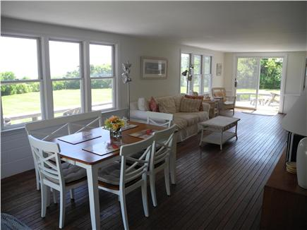 Orleans Cape Cod vacation rental - Open living and dining