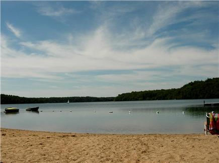Sheep Pond Estates, Brewster Cape Cod vacation rental - Short walk to crystal clear Sheep Pond for swimming & fishing