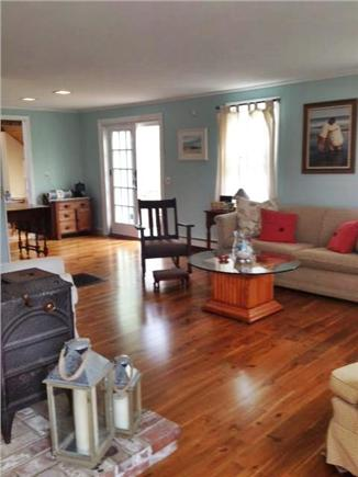 Sheep Pond Estates, Brewster Cape Cod vacation rental - Bright living room opens to patio. Perfect for gathering.