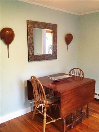 Sheep Pond Estates, Brewster Cape Cod vacation rental - This area is open to living room. Perfect for puzzle making!