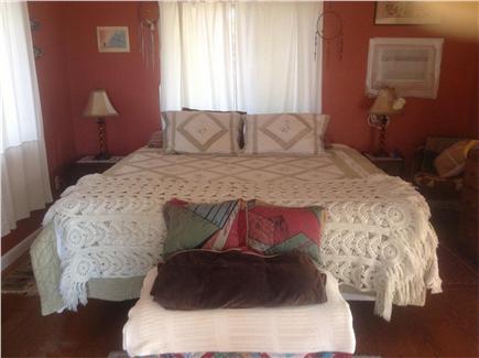 Wellfleet Cape Cod vacation rental - Master bedroomKing bed