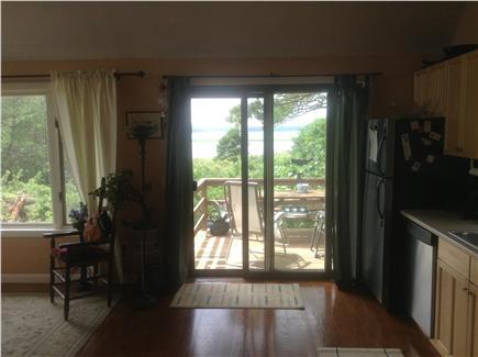 Wellfleet Cape Cod vacation rental - View through Master bedroom doors