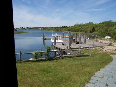 Chatham Cape Cod vacation rental - Keep your boat here facing beautiful Stage Harbor