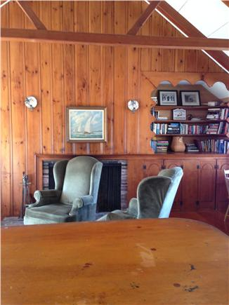 Chatham Cape Cod vacation rental - Cathedral ceiling living area