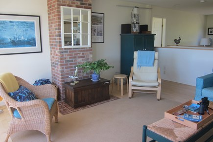 Wellfleet Cape Cod vacation rental - Living room another view