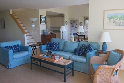 Wellfleet Cape Cod vacation rental - Living Room  - first floor