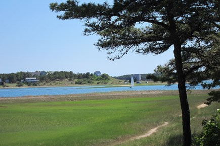 Wellfleet Cape Cod vacation rental - Walking path along the shoreline