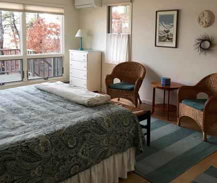 Wellfleet Cape Cod vacation rental - Bedroom first floor with king bed