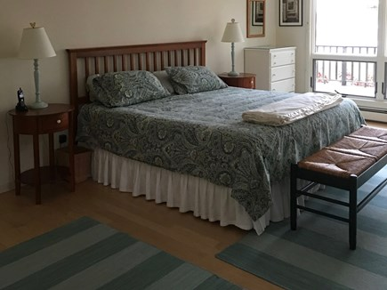 Wellfleet Cape Cod vacation rental - Bedroom - first floor with king bed