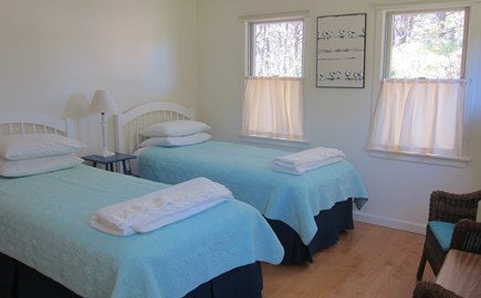 Wellfleet Cape Cod vacation rental - Bedroom second floor with twin beds - another view