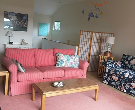 Wellfleet Cape Cod vacation rental - Second floor living room