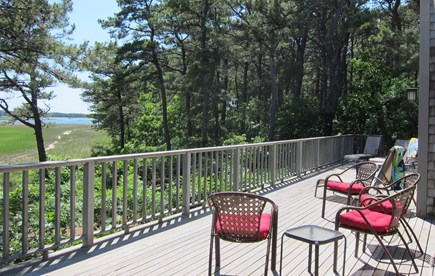 Wellfleet Cape Cod vacation rental - Deck - another view