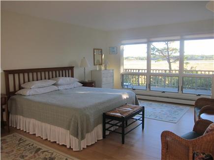 Wellfleet Cape Cod vacation rental - Bedroom first floor with king bed