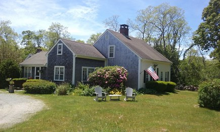 North Eastham Cape Cod vacation rental - Front of Historic c1725 Antique Colonial Cape