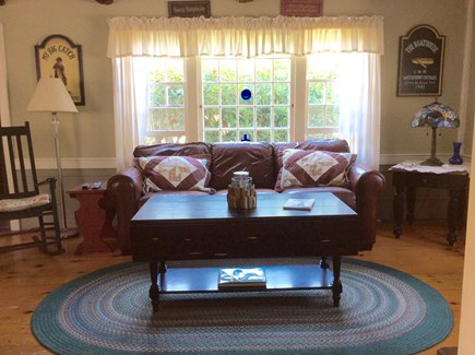 North Eastham Cape Cod vacation rental - View of the living room.
