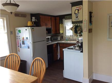 North Eastham Cape Cod vacation rental - View of Country Style Kitchen seats 6 - 8 comfortably.