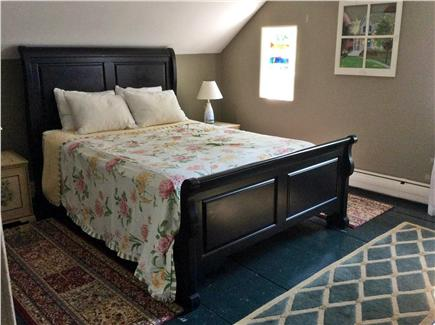 North Eastham Cape Cod vacation rental - 2nd floor Master Bedroom with Queen Sleigh Bed & shared 1/2 bath