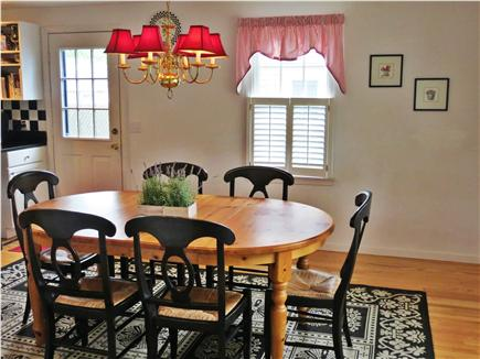 Harwichport, south of Route 28 Cape Cod vacation rental - Open Concept Pottery Barn Eat-in Kitchen/Dining Room