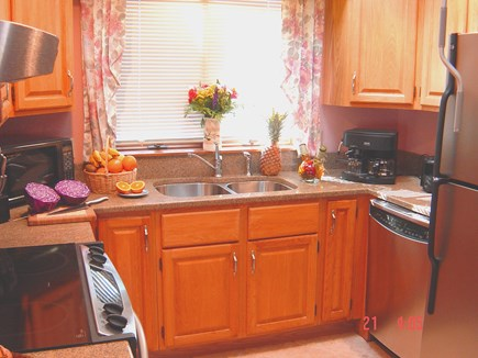 East Orleans Cape Cod vacation rental - Completely equipped kitchen; top of the line appliances.