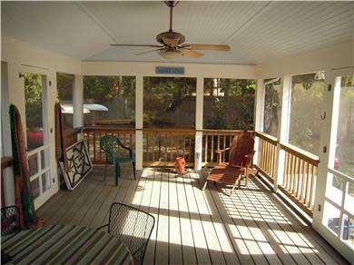 Cotuit Cotuit vacation rental - Screened in deck