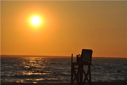 East Falmouth Cape Cod vacation rental - Sunset Menauhant Beach