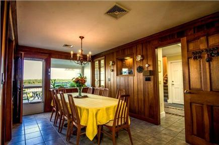 East Orleans Cape Cod vacation rental - Dining area for twelve.  Access to ocean view deck.