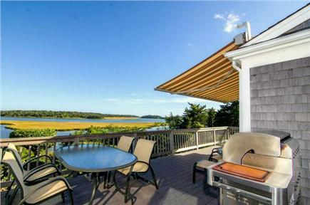 East Orleans Cape Cod vacation rental - Ocean view deck.  Quality time with the family and friends.