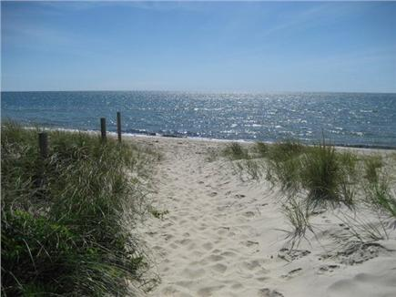 Dennisport - beach-yards away Cape Cod vacation rental - Walk 3-4 min. to this warm water sandy beach, summer lifeguard