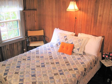 Dennisport - beach-yards away Cape Cod vacation rental - Queen Bedroom, one Queen bed, A/C, Sheets Included