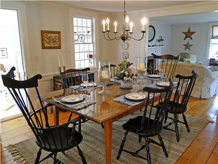 West Harwich Cape Cod vacation rental - Beautiful dining area, seats eight