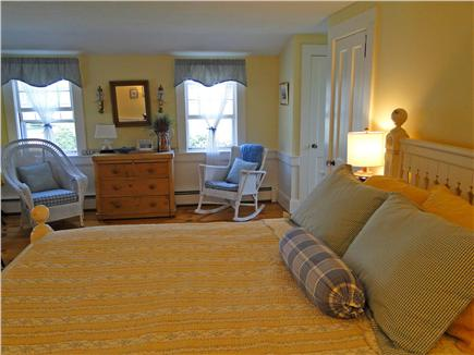 West Harwich Cape Cod vacation rental - Queen Master on main floor with private full bath