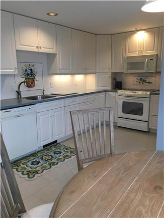 Dennis Cape Cod vacation rental - Kitchen. New 'large' tile floor