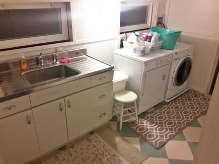 Orleans Cape Cod vacation rental - Wash room ''ell'' off kitchen