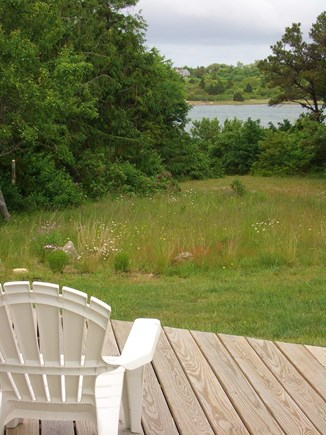 Orleans Cape Cod vacation rental - Tree-lined, 1.5 acre property on water... space and privacy.