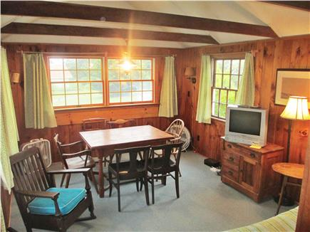Orleans Cape Cod vacation rental - Dining room with futon in foreground