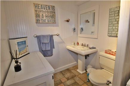 Sagamore Beach Sagamore Beach vacation rental - First floor bathroom with washer and dryer