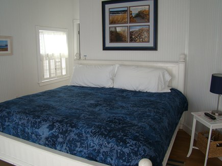 Sagamore Beach Sagamore Beach vacation rental - Master bedroom with private bath, ocean front balcony & cable tv.