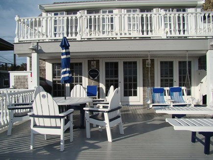Sagamore Beach Sagamore Beach vacation rental - Comfortable outdoor living with hot/cold shower.